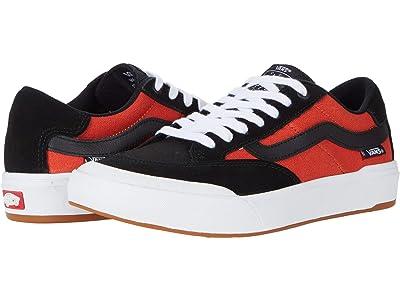 Vans Berle Pro (Black/Orange) Skate Shoes