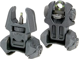 Meprolight Front and Rear Flip-up Sights with Tritium, 4 Rear Dots