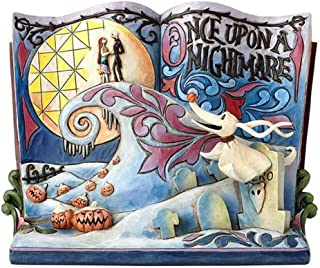 Disney 4057953 Traditions Once Upon A Nightmare Storybook Figurine