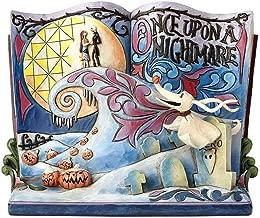 Enesco Jim Shore Disney Traditions The Nightmare Before Christmas Storybook Stone Resin Figurine 6.25