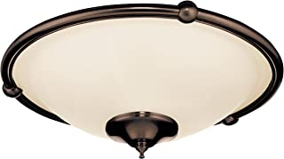 Emerson Ceiling Fans LK53ORB Low Profile Damp Light Kit for Ceiling Fans, Candelabra