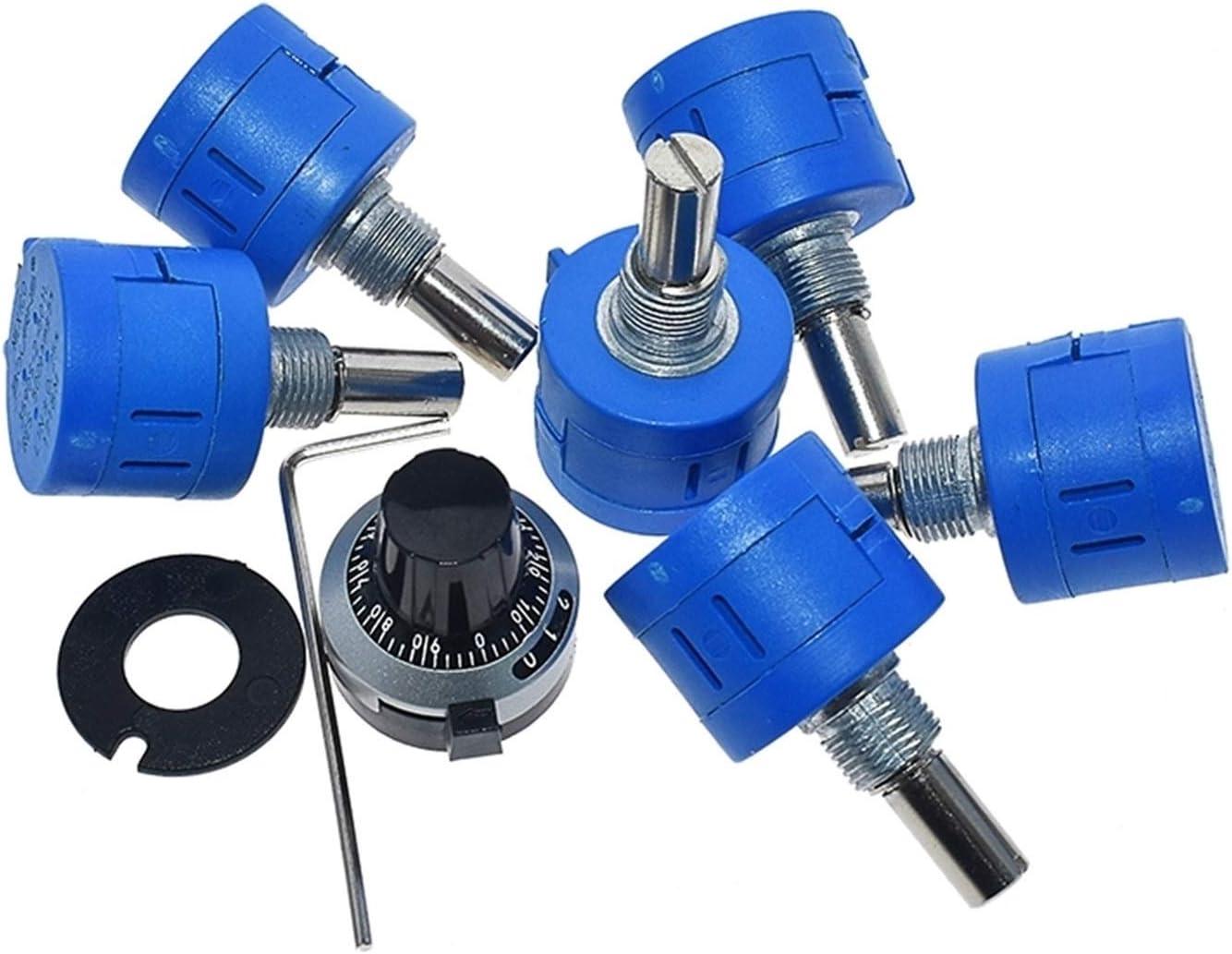 ZHENGLUSM Resistor 3590S Sale item Nippon regular agency Multiturn Potentiometer 500 1K 2K 5K 10
