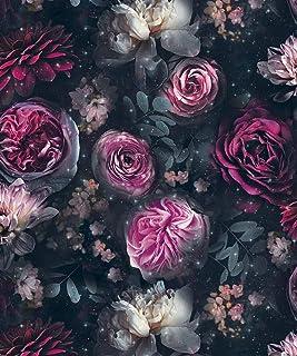 Amazon Co Uk Purple Flower Wallpaper