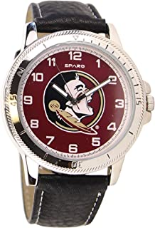 Men's Classic Leather Sports Watch