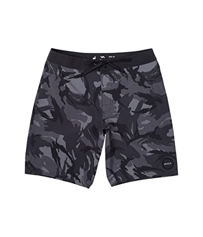 RVCA VA Trunk Print (Black Camo) Men