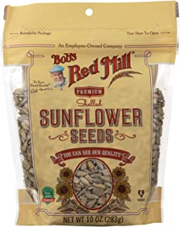 BOB'S RED MILL, Seeds, Sunflower, Shelled, Pack of 6, Size 10 OZ, (Gluten Free Kosher)
