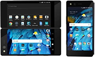 ZTE Axon M Z999 Unlocked GSM Smartphone w/ 20MP Camera and Foldable Dual Screens (for Multi-Tasking) - Carbon Black (Renewed)