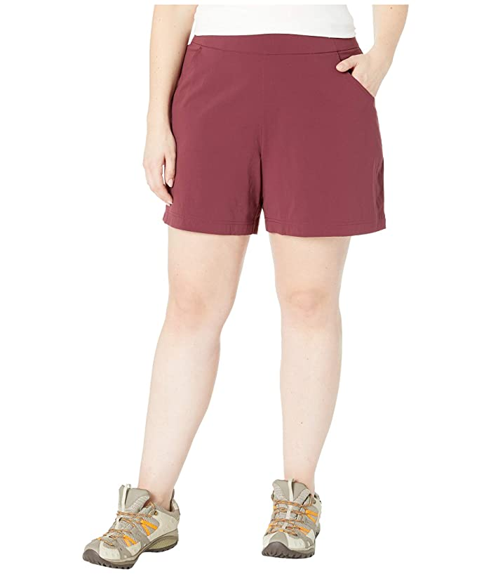 Columbia Plus Size Anytime Casualtm Shorts (Deep Madeira) Women
