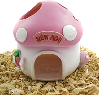 Alfie Pet - Mushroom Hideout Hut for Small Animals Like Dwarf Hamster and Mouse
