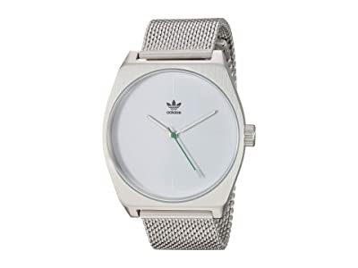adidas Process_M1 (Silver/White/Green) Watches
