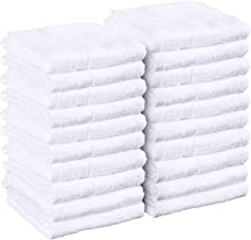 حوله های Utopia Towels Salon، 24 Pack، (اثبات عدم Bleach ، 16 27 27 اینچ ، سفید) ، حوله های دست ، حوله های بدنسازی