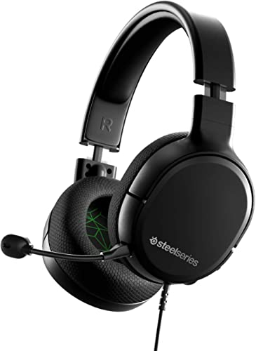 SteelSeries Arctis 1 Wired Gaming Headset – Detachable ClearCast Microphone – Lightweight Steel-Reinforced Headband –...