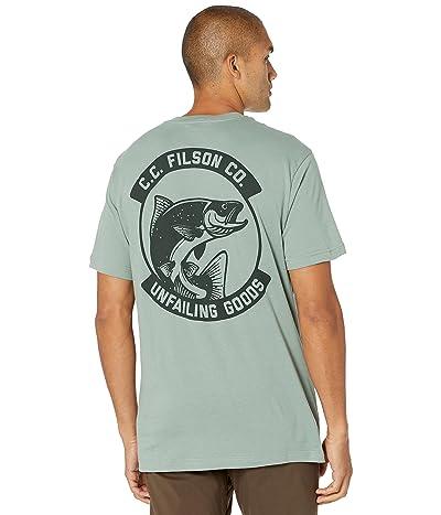 Filson Short Sleeve Ranger Graphic T-Shirt (Fast Track) (Lake Green