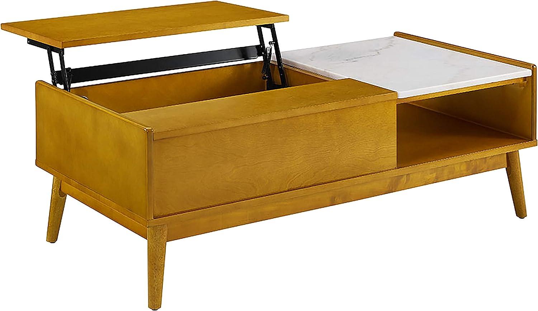 Amazon.com Crosley Furniture Landon Storage Coffee Table with ...