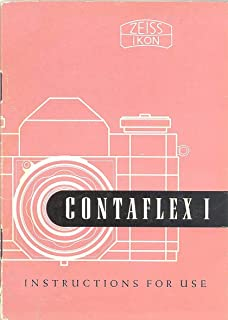 Zeiss Ikon Contaflex I Instructions For Use Original Manual