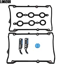 LIMICAR Valve Cover Gasket with Engine Timing Chain Tensioner Gasket Set For 98-05 Volkswagen Passat V6 2.8L 98-01 Audi A4