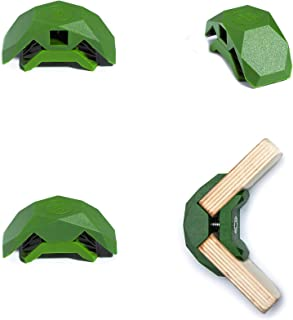 PlayWood Connector Tool-Free Modular Pop-Up 3-Cube Storage Kit w/Plywood (Lt. Green)