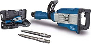 Scheppach AB1900 slagkraft 60 J slagkraft, 1 900 W, 390 mm inkl. spets- och platt mejsel och transportlåda