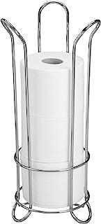 iDesign Toilet Tissue Roll Reserve Organiser, Chrome