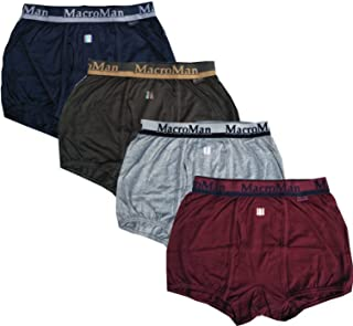 Rupa Men's Cotton Briefs (Pack of 4) Color May Vary