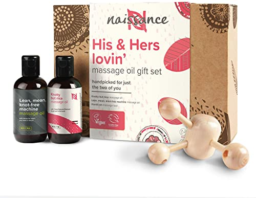 Naissance Coffret Cadeau Huiles de Massage Moment à Deux « His and Hers » - Sensuel et Romantique (2 x 100ml) avec ou...