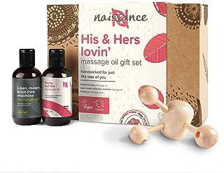 Naissance His & Hers Lovin' – voor hem en haar massageolie cadeauset voor elke gelegenheid – sensuele en romantische massa...