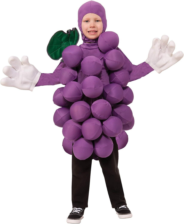 Unisex Purple Max Cheap SALE Start 67% OFF Grapes Costume Childs