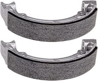 SCITOO High Performance Brake Shoes Fit 85-88 Kawasaki Bayou 185 KLF185A,88-02 Kawasaki Bayou 220 KLF220A,03-10 Kawasaki Bayou 250 KLF250A,97-04 Kawasaki Bayou 300 KLF300B