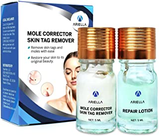 Ariella Mole and Skin Tag Remover and Repair Lotion Set, Remove Moles and Skin Tags