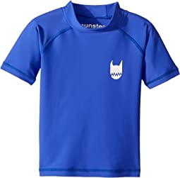 Munster Kids - Logo Short Sleeve Rashie (Toddler/Little Kids/Big Kids)