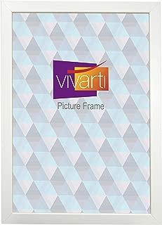 Matt White Box Picture Photo Frame, 35 x 50 cm by Vivarti