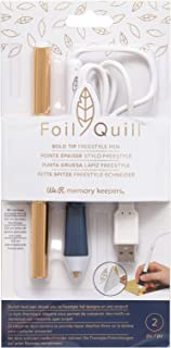 We R Memory Keepers 661076 Bold Tip Foil Quill Pen