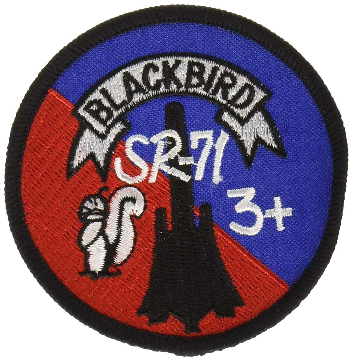 EagleEmblems PM0184 Patch-USAF,SR-71,Logo (3'')