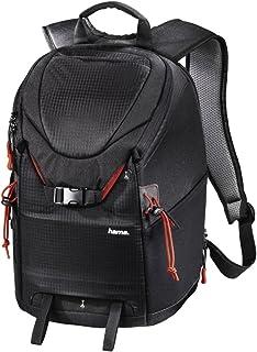 Mochila para cámara réflex digital y equipo (15 L, acceso rápido, compartimento para tablet, protector de lluvia, soporte para trípode, compatible con equipaje de mano), color negro
