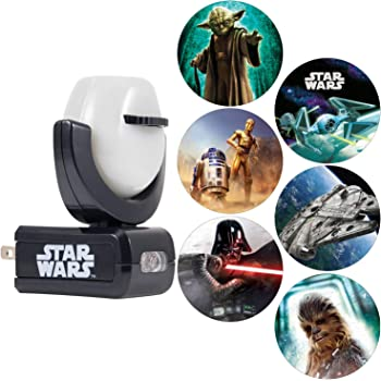 Projectables LED Night Light Projector, Plug-in, Dusk-to-Dawn, Collector's Edition, Ceiling, Wall, or Floor, Ideal for Bedroom, Nursery, 43646, Star Wars   6-Image