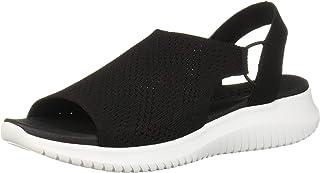 Skechers Women's Ultra Flex-Engineered Knit Sling-Back Sporty Sandal Sport