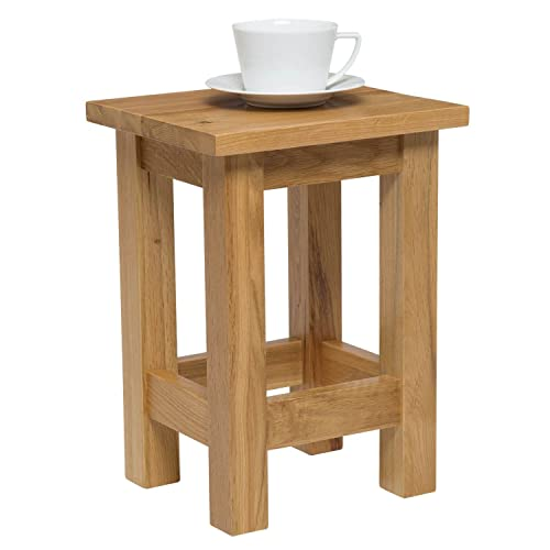 Wooden Side Table Amazoncouk