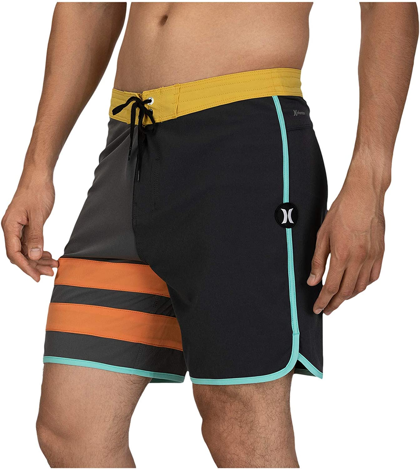 Hurley Outlet sale feature Men's Phantom Block Party New product!! Short Boardshort Inch Swim 18