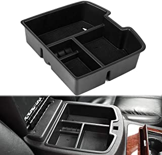 EDBETOS 07-14 Full Size GM Trucks Center Front Floor Console Organizer for Chevrolet Avalanche Chevy Tahoe Silverado Subur...