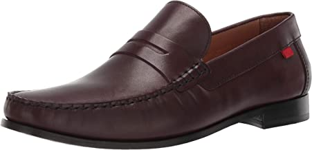 MARC JOSEPH NEW YORK Mens Grainy Leather Windsor Place Penny Loafer