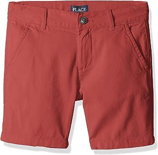 The Children's Place - Pantalones Cortos de Chino para niños Grandes