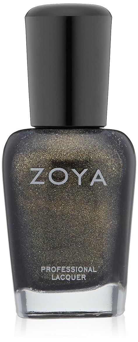 応答大量昆虫ZOYA ゾーヤ ネイルカラー ZP525 EDYTA エディータ 15ml 深みのあるグリーン グリッター/メタリック 爪にやさしいネイルラッカーマニキュア
