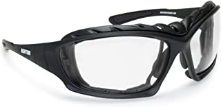 BERTONI Motorcycle Glasses Photochromic with Removable Clip