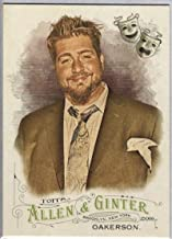 Baseball MLB 2016 Allen and Ginter #243 Jay Oakerson Comedian NM-MT