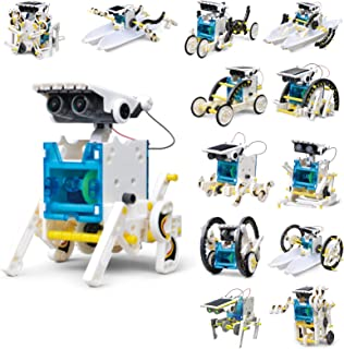Solar Robots for Kids 13 in 1 STEM Projects Building Toys Science Educational Experiment Kit Gifts for Kids Boys Girls Age...