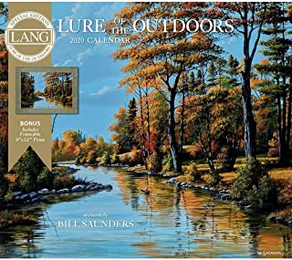 2020 Lure of The Outdoors Special Edition Wall Calendar, by Lang Companies