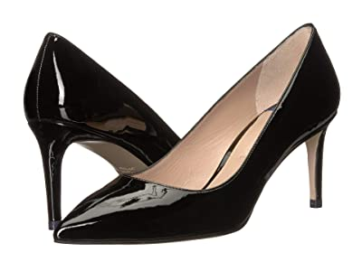 Stuart Weitzman Leigh 70mm Pump (Black Cristal) Women