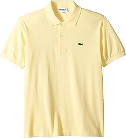 Short Sleeve Classic Pique Polo Shirt