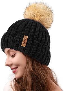 bobble wool hat