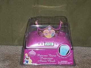 Disney Princess Tiara Projection Alarm Clock